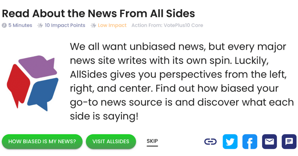 Read About the News From All Sides
